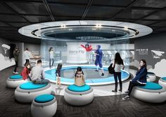Gimpo National Aviation Museum / 김포국립 항공박물관 Exhibition Room, Interactive Exhibition, Interactive Design, Interactive Display, Display Design, Booth Design, Arch Hotel, World Architecture Festival, Science Museum