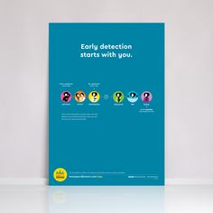 Breast Cancer Early Detection Poster (UK WOC) - 28x43 cm (~A3)