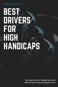 Check out the best golf drivers for those of you that might have a little bit of a high handicap and need a little help from your driver on the tee box. This selection guide has all the golf tips you need to make the right choice. Golf Tiger Woods, Woods Golf, Golf Clubs For Beginners, Mens Golf Clubs, Pga Tour Players, Golf Books, Golf Gifts For Men, Putting Tips, Best Golf Courses