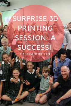 Engage your students completely with 3D printing. Check out how this school surprised its students with a 3D printing lesson!