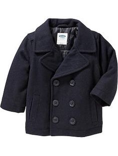 Wool-Blend Pea Coats for Baby | Old Navy
