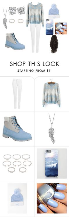 """""""It is FREEZING outside!!"""" by aqua-green924 ❤ liked on Polyvore featuring WearAll, Timberland, Penny Preville, Forever 21, Young & Reckless, women's clothing, women, female, woman and misses"""