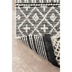 Union Rustic Napoleon Hand-Tufted Ivory Area Rug | Wayfair Rectangular Rugs, Wall Patterns, Indoor Rugs, Online Home Decor Stores, Cool Rugs, Rugs Online, Colorful Rugs, Animal Print Rug, Rug Size