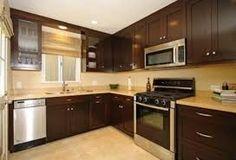 Resultado de imagen para gabinetes de cocina pequeña modernos