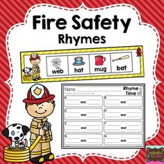 Fire Safety Rhymes