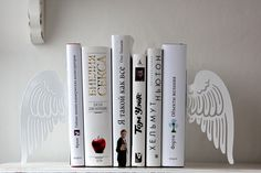Bookends -Angel wings-  via Etsy.