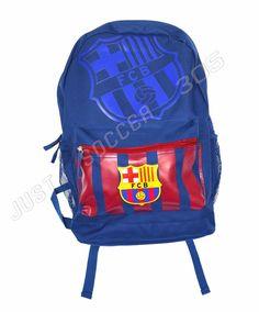 6260f2423 FC Barcelona backpack school mochila bookbag cinch FCB Navy #IconSport #FCBarcelona  Messi 10,