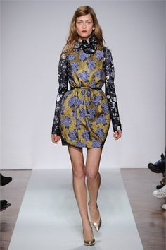 .normaluisa - Collections Fall Winter 2012-13 - Shows - Vogue.it  Look 32.