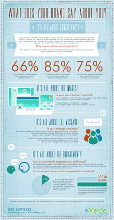 What does your brand say about you? #business #infographic www.socialmediamamma.com