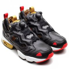 2016f83b0f5 Reebok Insta Pump Fury - Black - True Gold - Excellent Red - SneakerNews.com