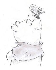 Winnie the Pooh by CameronHarperArt on DeviantAr .-Winnie the Pooh von CameronHarperArt auf DeviantAr… – Winnie the Pooh by CameronHarperArt on DeviantAr … – - Easy Disney Drawings, Disney Character Drawings, Disney Drawings Sketches, Art Drawings Sketches Simple, Doodle Drawings, Animal Drawings, Cute Drawings, Drawing Ideas, Drawing Disney