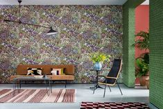 〚 Eclectic wallpaper collection Ardmore by Cole & Son 〛 ◾ Photos ◾Ideas◾ Design Flower Power, Eclectic Wallpaper, African Interior Design, Wildlife Wallpaper, Bouquet Champetre, London Design Week, Cole And Son Wallpaper, Casamance, Forest Design