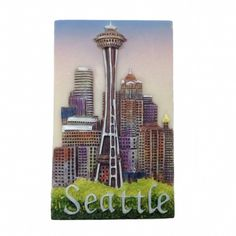 Seattle Needle Magnet Seattle Gifts