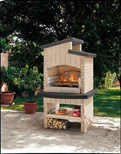 De Palazzetti #barbecue MARETTIMO G is een betonnen barbecue, deze barbecue hoeft niet meer geverfd te worden!