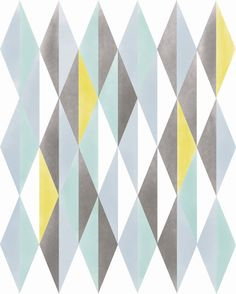 Abstract Print Wall Decor, Norwegian Digital Print Geometric Pattern Home Decor, Nordic Scandinavian Mid Century Vintage Modern Abstract Art.   http://www.etsy.com/shop/ParadaCreations  $19.00, via ParadaCreations on Etsy.