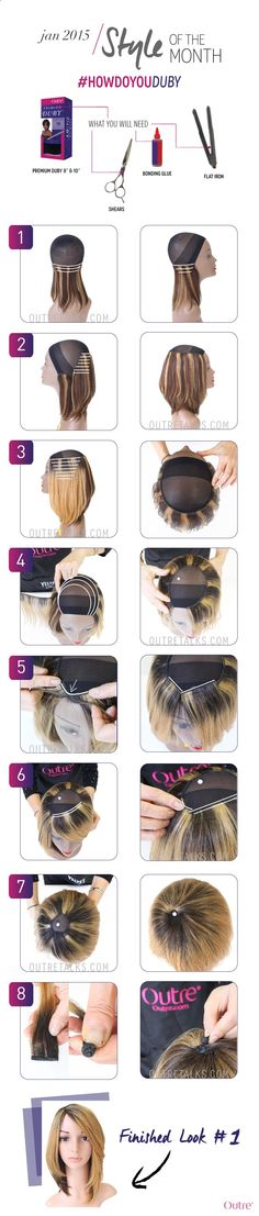 2-in-1 Duby Hairstyles
