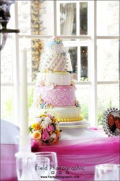 my amazing wedding cake xx