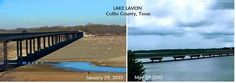 Lake Lavon after the rains 2015