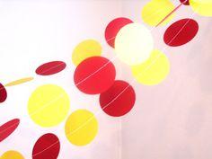 USC trojans paper garland 2circle custom by ScissorBellePaper