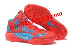 Russell Westbrook Playoff Edition Hyperfuse 2011 Red/Blue/Glow/W Sport Nike Zoom, Adidas Shoes, Sneakers Nike, High Tops, Blue Basketball Shoes, Shoe Sale, Jordan Shoes, Red And Blue, Russell Westbrook