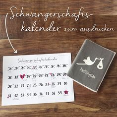 Calendário de gravidez para imprimir – Freebie by ENGEL + BANDITEN – Schwanger – schwangerschaft Christmas Crafts For Toddlers, Toddler Crafts, Pregnancy Calendar, Pregnancy Calculator, Print Calendar, Third Baby, Pregnant Mom, Pregnancy Workout, Pregnancy Info