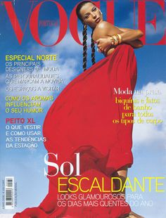 Daria Werbowy by Inez & Vinoodh Vogue Portugal June 2008