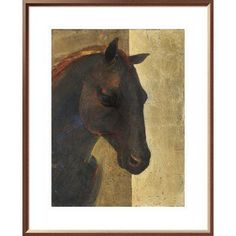 "East Urban Home 'Trojan Horse I' Print Format: Wrapped Canvas, Matte Color: No Matte, Size: 32"" H x 24"" W"