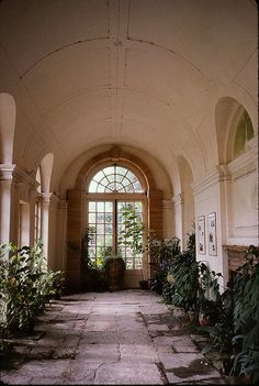 Hestercombe Orangery - Hestercombe House, Cheddon Fitzpaine, TAUNTON, Somerset TA2 8LG, United Kingdom (Gardens by Edwin Lutyens and Gertrude Jekyll : 1904 - 1908)
