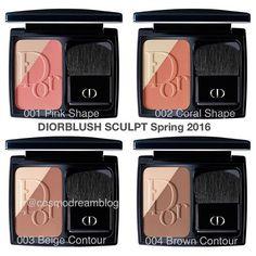 Новые румяна #Dior 2в1: хайлатер+румяна уже вышли в США можно наносить каждый цвет по отдельности или смешивать в желаемой пропорции new #DiorBlush Sculpt 2in1: highlighter+blush You can apply colors separately or mix them USA available already #DiorBlushSculpt #DiorSpring2016 #DiorMakeup #DiorBeauty #румяна #косметика Dior Makeup, Pink, Blush, Beige, Instagram Posts, Beauty, Rouge, Pink Hair, Beauty Illustration