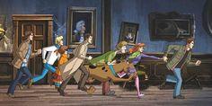 I fratelli Winchester e Castiel fanno squadra con la banda di Scooby-Doo in un bizzarro episodio animato crossover di Supernatural.
