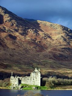 The 15th century remains of Kilchurn Castle, Loch Awe, Argyll and Bute, Scotland