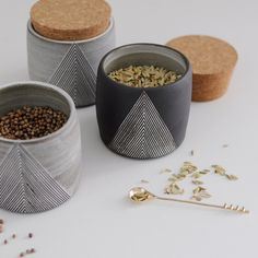 tumbler with cork lid by claire ginn