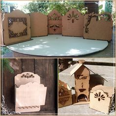Laser Cutting, Natural, Wood Crafts, Boxes, Facebook, Projects, Remainders, Crates, Fragrance