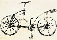 The Leonardo da Vinci Bicycle Hoax Bicycle Wheel, Bicycle Art, Bicycle Sketch, Bicycle Tattoo, Compass Tattoo, Tattoo Designs, Ink, Tattoos, Google Search