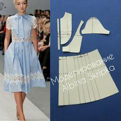 Вот такое симпатичное платье от дизайнера Юлии Гилевич мы рассмотрим сегодня в моделировании. По полочкам отрезная круглая кокетка, юбка в сборку или складку. Для платья можно взять хлопок или лен, а так же кружевное полотно По- моему, очень симпатично, вполне подойдёт для выпускного бала. А Вы как думаете друзья? Пишите комментарии, ставьте лайки, друзья!❤❤❤ ____ #АльбинаСкрипка #АльбинаСкрипка_моделирование #АльбинаСкрипка_урокишитья #шитье #шитьеназаказ #шитьемое #шитьеикрой…