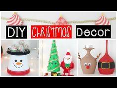DIY CHRISTMAS ROOM DECOR - Easy & Inexpensive Ideas! - YouTube