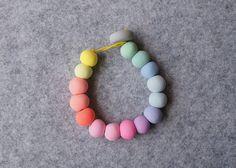 Handmade Polymer Clay Bead Bracelet for Girls by enaandalbert