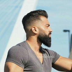 Beard nd cuts Beard And Mustache Styles, Beard Styles For Men, Beard No Mustache, Hair And Beard Styles, Short Hair Styles, Beard Fade, Beard Look, Beard Haircut, Fade Haircut