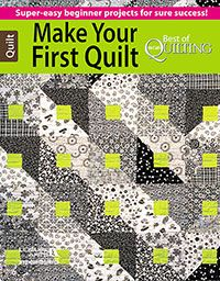 Best of McCall's Quilting Make Your First Quilt from ShopFonsandPorter.com