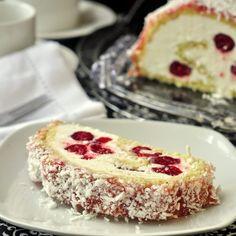 Billot Log Cake a.k.a. Raspberry Buttercream Log