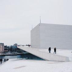 The Operahusset in #Oslo, from the roof. | Benoît Grogan-Avignon | VSCO Grid
