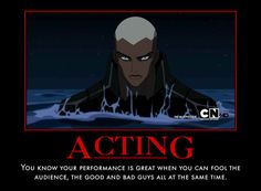 Not gonna lie, Aqualad had me so distraught and confused for a while there...