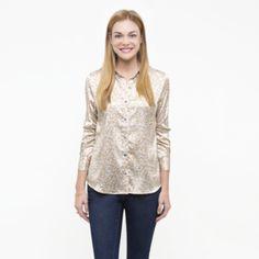 Grey Petals Slim Fit Shirt by Oak73 #AmericanMade #MadeinNYC #fashion Spring #florals
