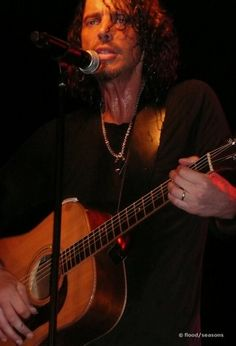 Chris Cornell - amazing musician and singer.