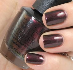 OPI San Francisco Collection Fall/Winter 2013 - Muir Muir On the Wall. A must have for fall!!