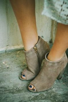 fall booties by lowercase rach