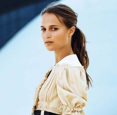 Alicia Vikander Dazzles in Louis Vuitton for Marie Claire France