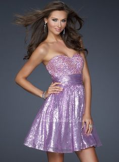 #LaFemme 17263 Lilac Prom Dresses.  Strapless Prom Dress!  Short Prom Dress #prom #promdress #InternationalProm #Prom360