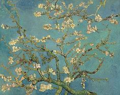 "van Gogh, ""Blossoming Almond Tree"", 1890"
