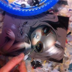 Here's a little piece - hoping to finish her tonight. Had so much fun with the last zombie girl piece, I'm working on one with a Zombie kitty inspired by my cat, Mama Wolf.  Will be up for auction - eBay ID:  Strangeling and prints will be at Strangeling.com #zombie #cat #zombies #art #fantasyart #jasminebecketgriffith #goth #gothic #bigeyes #bigeyeart #catart #fairy #fairies #fairyart #pop #surreal #surrealism #strangeling #horror #lowbrowart #newcontemporary #undead #painting #wip